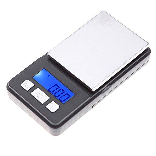 NAKASUFU Mini tragbare Digitale elektronische Taschen-Schmuck-Skala-Präzisions-Gewichts-Werkzeug Mini-digital-tasche
