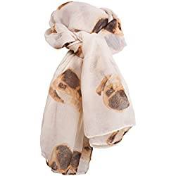 Bufanda - para mujer Beige beige única