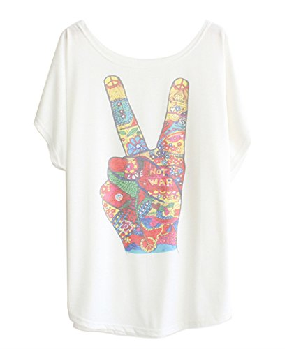 luna-et-margarita-white-cotton-t-shirt-batwing-sleeve-with-print-victory-for-size-10-12