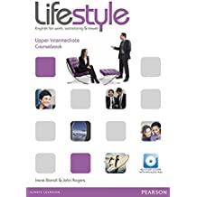 Lifestyle Upper Intermediate Coursebook and CD-ROM Pack.