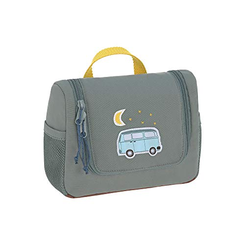 Lässig Beauty Case per bambini da viaggo Adventure Bus, Blu