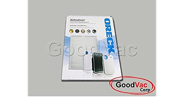 AIR108HPK1 Genuine Oreck Air Instinct AirInstinct 108 75 100 150 200 HEPA 3 Year Purifier Filter Part Number