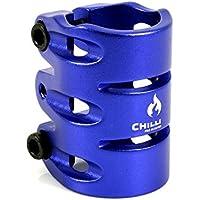 Chilli Pro IHC 3Bolzen-Klemme für Tretroller–verschiedene Farben, blau