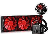 DEEPCOOL Captain 360 EX Wasserkühler,3 x 120mm Lüfter,All-In-One Extreme Performance CPU,Wasserkühlung 360mm,3 Jahre Garantie