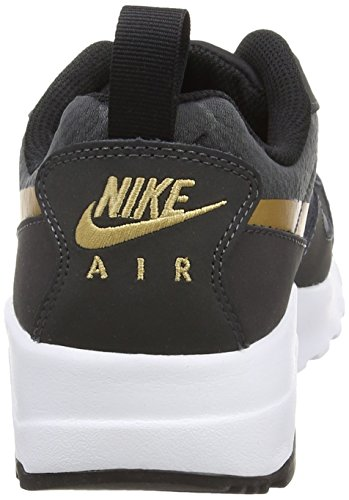 Nike Wmns Air Max Muse, Scarpe sportive, Donna Anthracite/Mtllc Gld-Blk-White