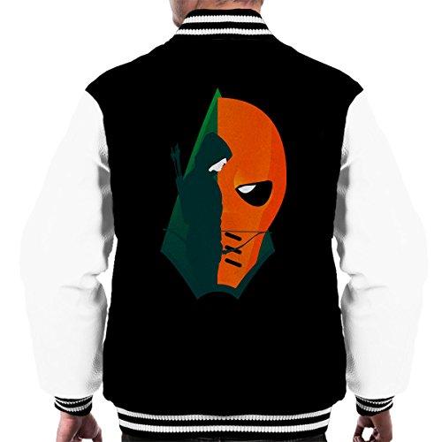 Arrow Deathstroke Montage Men's Varsity Jacket