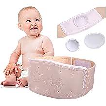 Umbilical Ombligo Navel Hernia Truss Cinturón para el vientre del bebé Abdominal Hernia Binder ajustable soporte
