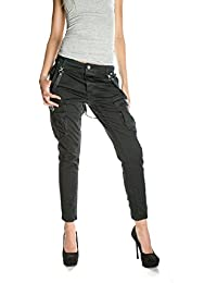 PLEASE - P87 femme cargo jeans pantalon p87ldr7m07