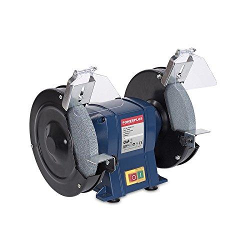 PowerPlus POW5102 Esmeriladora De Banco 350W 200Mm