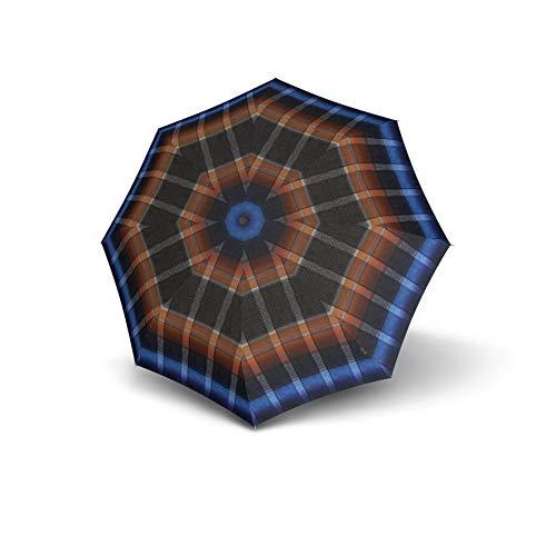 Knirps T.200 Medium Duomatic Regenschirm Taschenschirm T200 Auf-Zu Automatik Ingrid Blue
