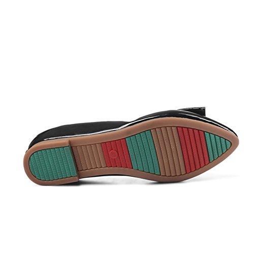 Spring Chaussures pour femmes/chaussures peu profonds/Fin de patins de boeuf A