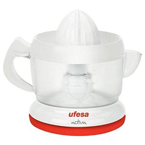 Ufesa Exprimidor Electrico Ex4935 40W, 40 W, plástico, Rojo/Blanco