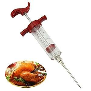 HeroNeo ®-Siringa per marinata Siringa per cuocere carne e pollame, gusto tacchino, pollo WQ BBQ Tool