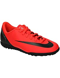 buy online 2c8bb c8601 NIKE Scarpa Calcetto Bimbo JR Mercurial Vapor 12 Club CR7 TF TG(36.5)