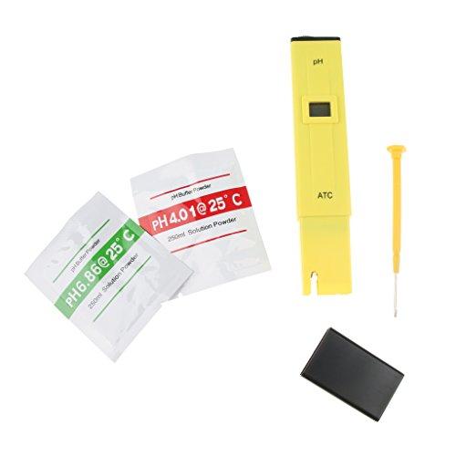 Homyl Digital PH Meter/PH Tester/Mini Wasserqualität Tester Aquarium Teich Test Auflösung 0,1 PH