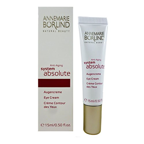 Annemarie Börlind System Absolute femme/women, Anti Aging Eye Cream, 1er Pack (1 x 15 ml) -