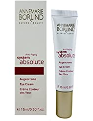 Annemarie Börlind System Absolute femme/women, Anti Aging Eye Cream, 1er Pack (1 x 15 ml)