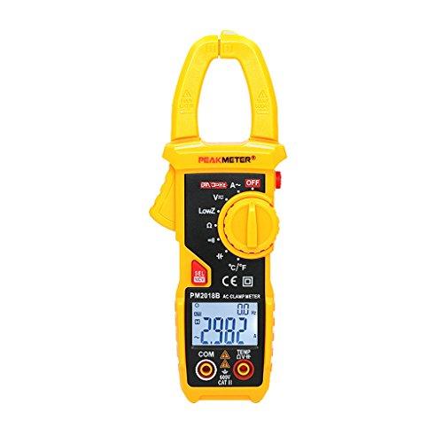 Homyl Digital-Multimeter, Mini-Messgerät, digitales Messgerät zur Reinigung von Geschäften, wissenschaftlich Gelb2
