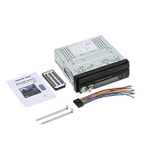 "KKmoon Reproductor MP5 para Coche,Autoradio 7\"" Pantalla Táctil BT FM USB SD Mano Libre Esteréo y Control Remoto"