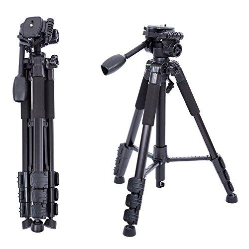 Profesional Trípode Ligero Completo para Cámara DSLR Canon, Nikon, Sony,...