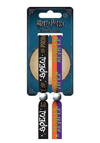 Wizarding World Jungen Harry Potter Armband, Mehrfarbig, 10mm breit