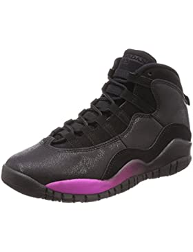 NIKE Air Jordan 10 Retro GG, Zapatillas de Gimnasia Unisex Niños