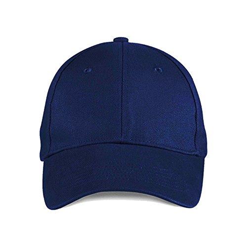 Anvil Amboss gebürstete Twill Cap - Navy - Navy Twill Cap