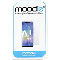 moodie Huawei Mate 20 Pro Panzerglas 3D Folie Premium Glasfolie für Gewölbte Displays Full Screen 3D Panzerglasfolie Curved - Full Cover vollständige Display Abdeckung für Huawei Mate 20 Pro