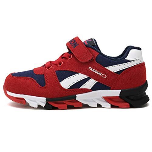 XHCHE Kids Shoes Boys Girls Sneakers AtmungsAktive Junge MäDchen Sport Schuhe Rutschfeste Kinderschuhe Laufschuhe