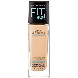 Maybelline New York Fit Me Matte with Poreless Foundation, 115 Ivory, 30ml