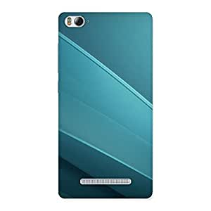 Neo World Blue Dotted Pattern Back Case Cover for Xiaomi Mi4i