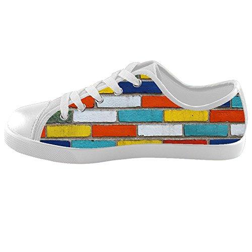 (Custom gemauerte Wand Textur Kids Canvas shoes Schuhe Footwear Sneakers shoes Schuhe)