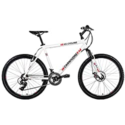 KS Cycling Carnivore VTT semi rigide Blanc 26''/52 cm