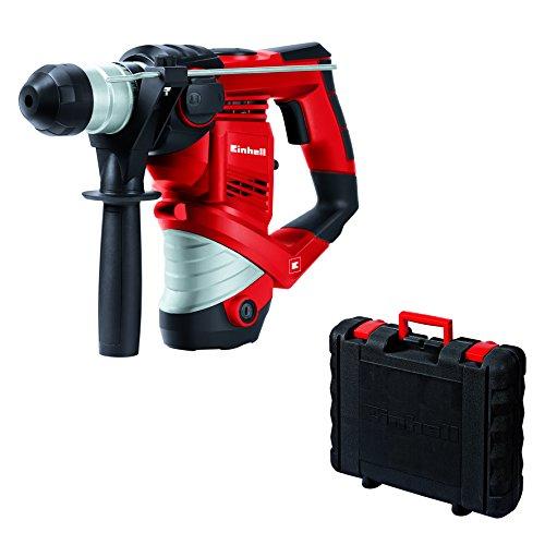 elektro bohrhammer Einhell Bohrhammer TC-RH 900 (900 W, 3 J, Bohrleistung in Beton 26 mm, SDS-Plus-Aufnahme, Metall-Tiefenanschlag, Koffer)