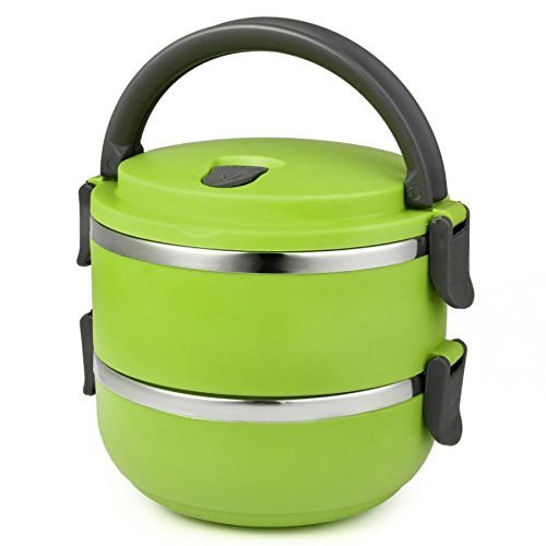 Skyfun Food Grade Stainless Steel Hot Insulated Lunch Box with Handle for Kids