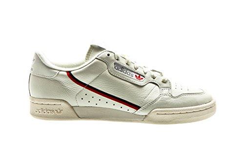 san francisco ccbb6 80b6a adidas Originals Continental 80 Rascal, White Tint-Off ...