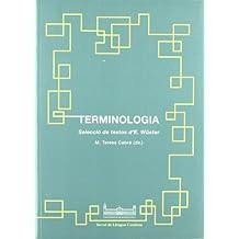Terminologia. Selecció de textos d'E. Wüster