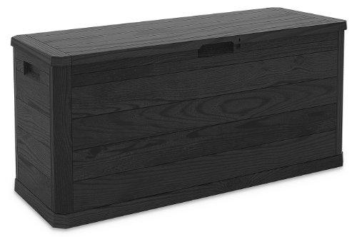 Toomax Z164R097 Art. 164 Woody Boîte de Coussin Multifonctionnel Anthracite 117 x 45 x 56 cm