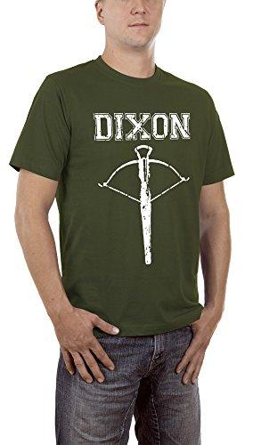 Touchlines Herren T-Shirt Dixon Arrow Grün (Khaki 06) Large -