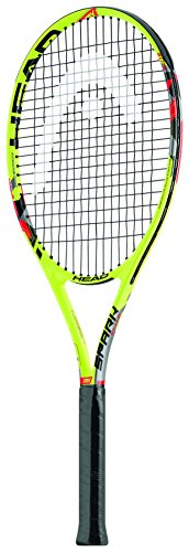 Head MX Spark Elite Racchetta di Tennis, unisex, Mx Spark Elite, giallo, Grip 4