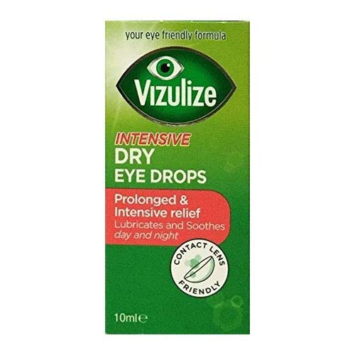 VIZULIZE Intensive Dry Eye Drops, 18 g