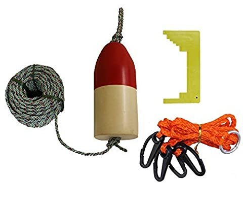 KUFA Sports Crabbing Kit with 5 x 11-Inch Crab Trap