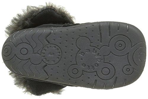 Babybotte Zouk, Chaussures Quatre Pattes (1-10 mois) Bébé Fille Gris (096 Gris)