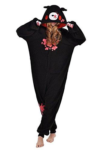 Auspicious beginning Unisex-adult Gloomy Bear Cosplay-Kostüm-Karikatur-Schlafanzüge Pyjama Freizeitkleidung (Bear Kostüme Halloween Polar)
