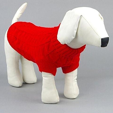 Ouneed® Camicia Piccolo Cane, Inverno Caldo Maglione Cappotto Lavoro A