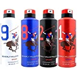 Polo Beverly Hills Polo Club Deodorant Combo (Assorted)-Pack of 4