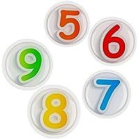 Magnets4Kids - magneti Set 12_5er pagare - lavagna e Magnete del frigorifero per bambini e vivaio, giovane e contralto - con effetto plastico - grande temi in TV, media e divertimento e molti altri