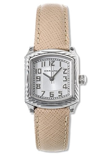 Hamilton Women'S H28211853 Standard Blaine Leather Watch