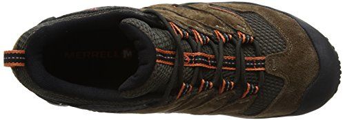 Merrell Cham 7 Limit Waterproof, Stivali da Escursionismo Uomo Marrone (Merrell Stone)