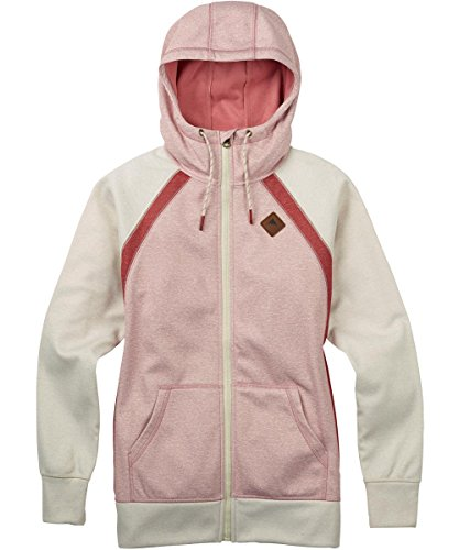 Burton Damen Bonded Scoop Hoodie Dusty Rose Heather, S -